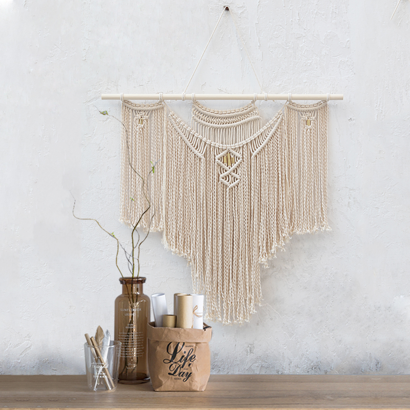 Macrame Wall Art Handmade Cotton Wall Hanging Tapestry for home ...